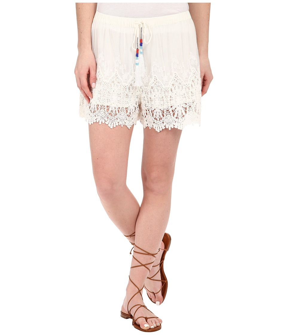 Young Fabulous & Broke - Kaylie Shorts (White) Women's Shorts