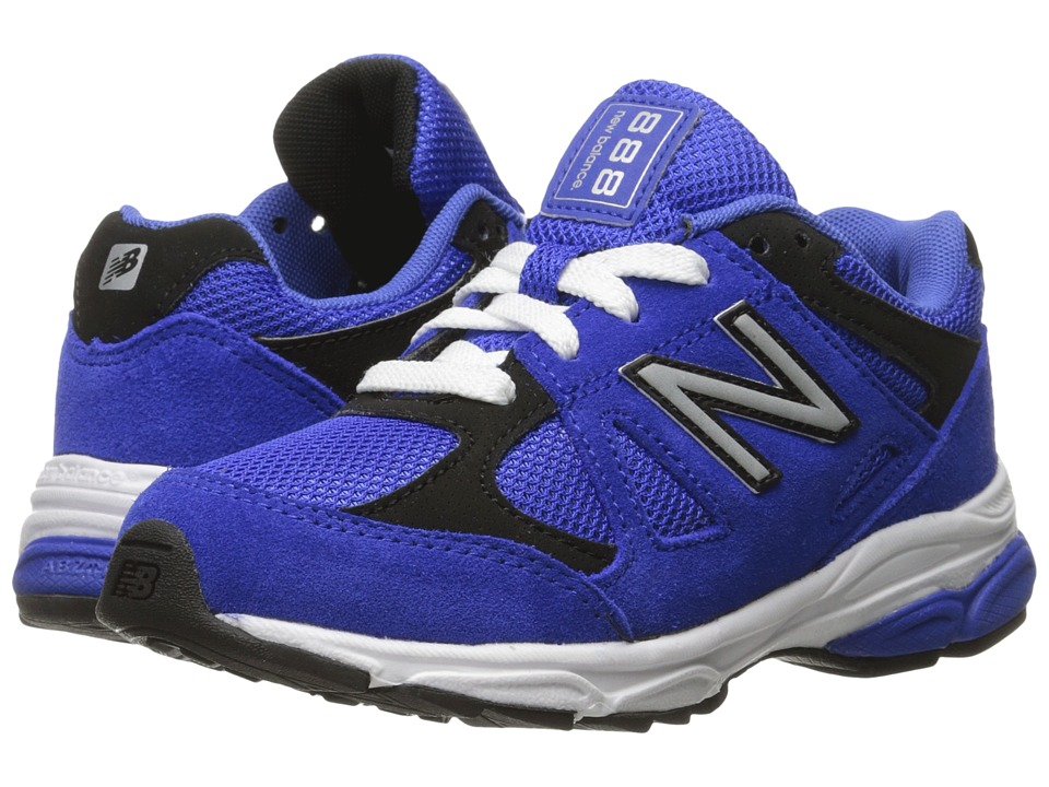 New Balance Kids - 888 (Little Kid) (Blue/Black) Boys Shoes
