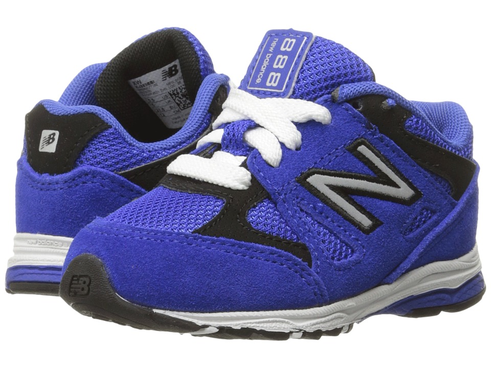 New Balance Kids 888 (Infant/Toddler) (Blue/Black) Boys Shoes