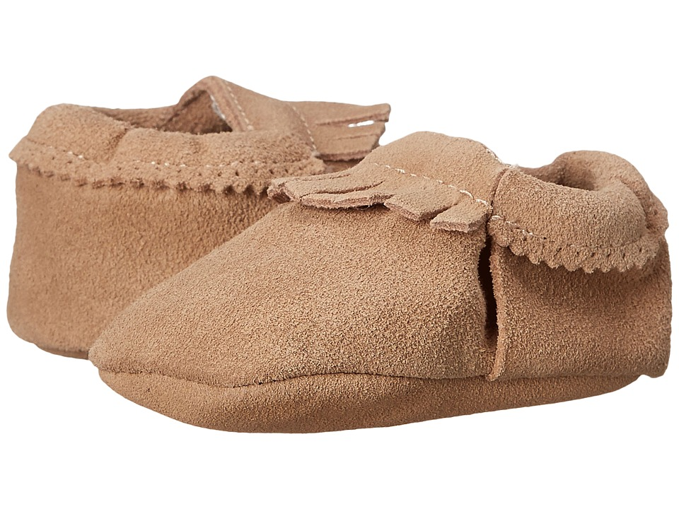 Hanna Andersson - Baby Moc (Infant/Toddler) (Natural) Kids Shoes