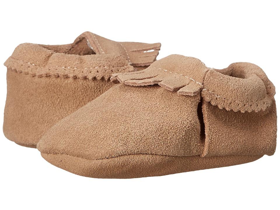 Hanna Andersson - Baby Moc (Infant/Toddler) (Natural) Kids Shoes