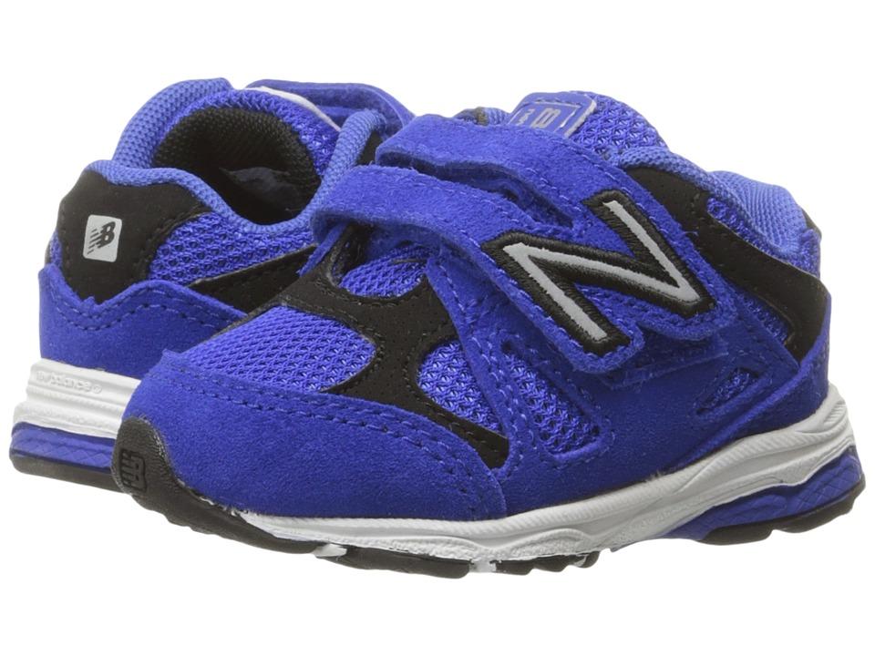 New Balance Kids 888 (Infant/Toddler) (Blue/Black 2) Boys Shoes