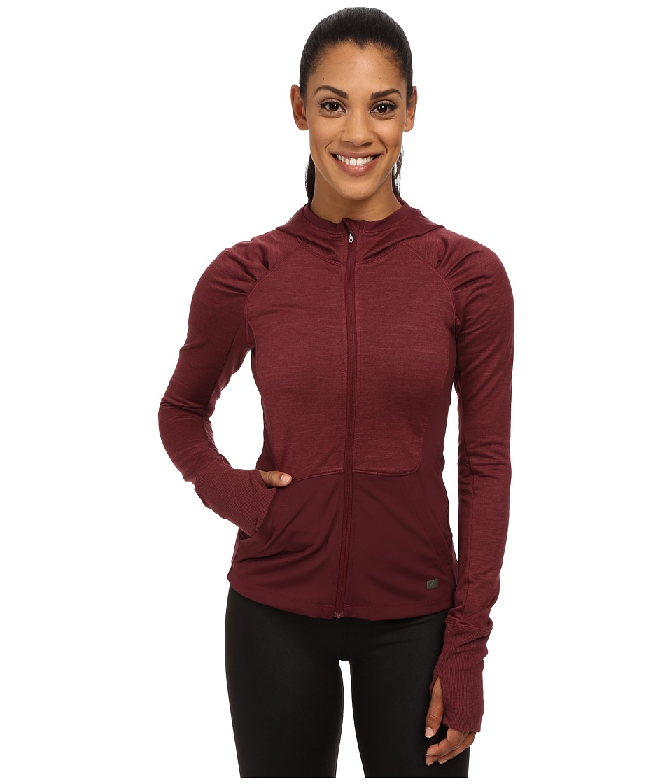 ASICS - Fit-Sana Zip Hoodie (Port Royale) Women's Sweatshirt