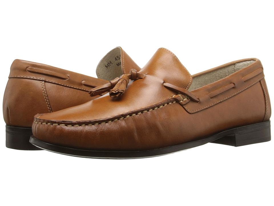 Massimo Matteo - Tassel Moc (Tan Latego) Men's Moccasin Shoes