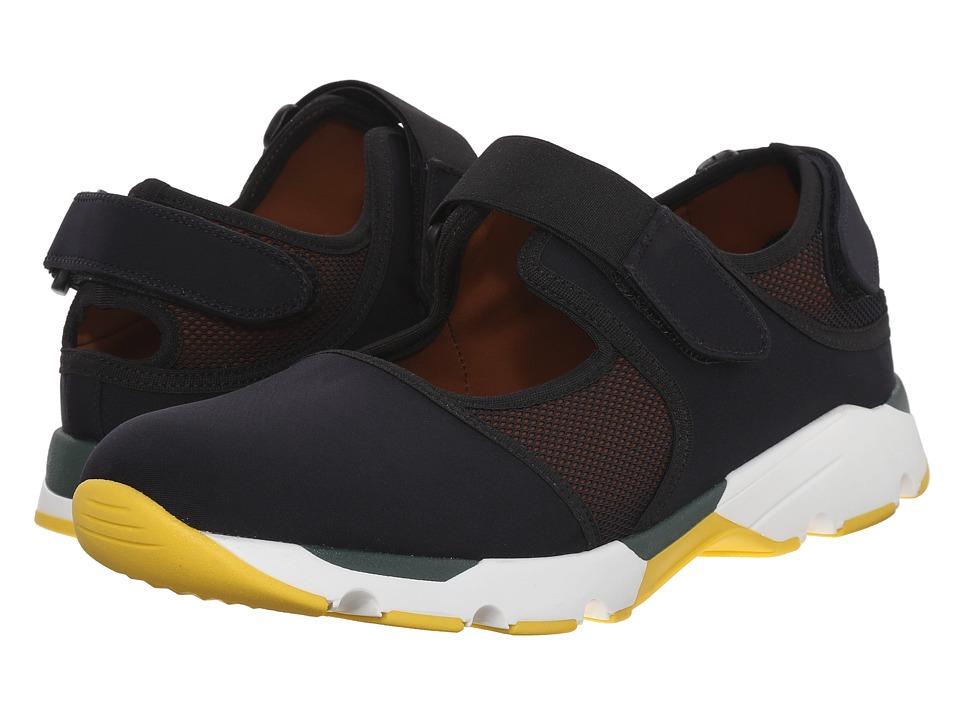 MARNI - Neoprene Sneaker/Sandal Hybrid (Black) Men's Shoes