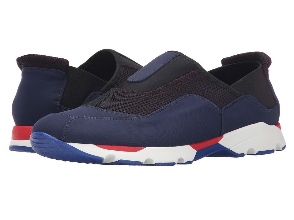 MARNI - Neoprene Pull-On Sneaker (Blue) Men's Shoes