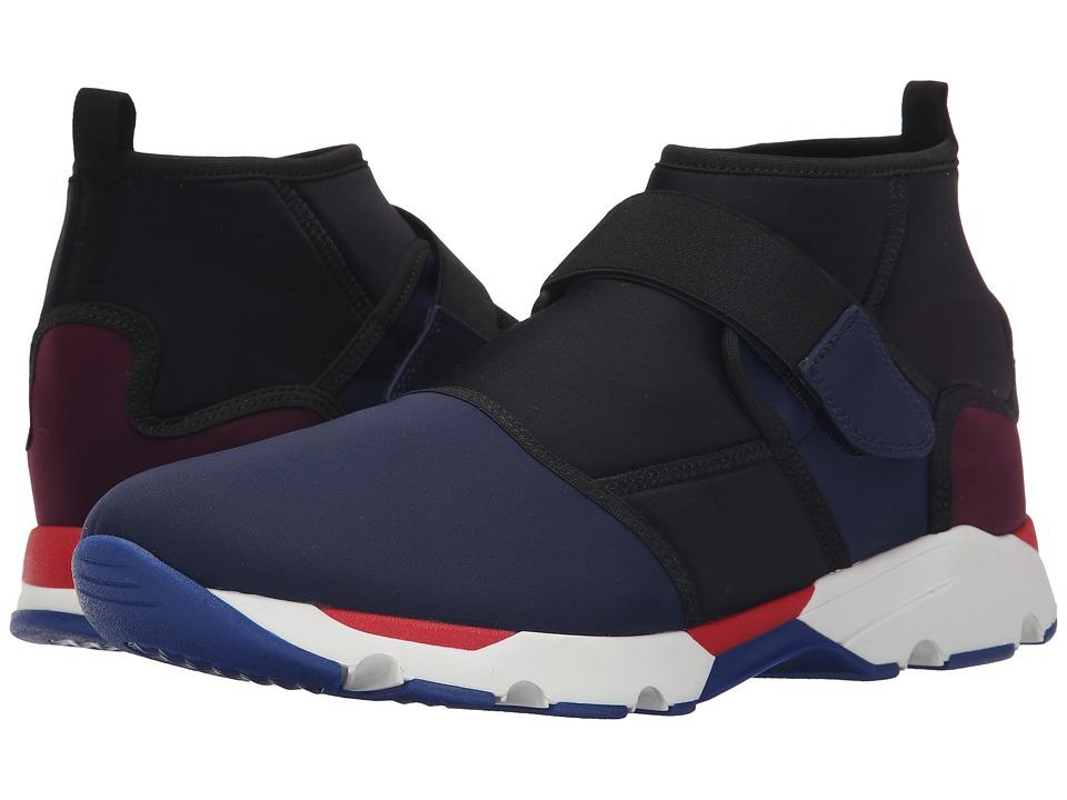 MARNI - Color Block Neoprene Sneaker/Sandal Hybrid (Blue) Men's Shoes