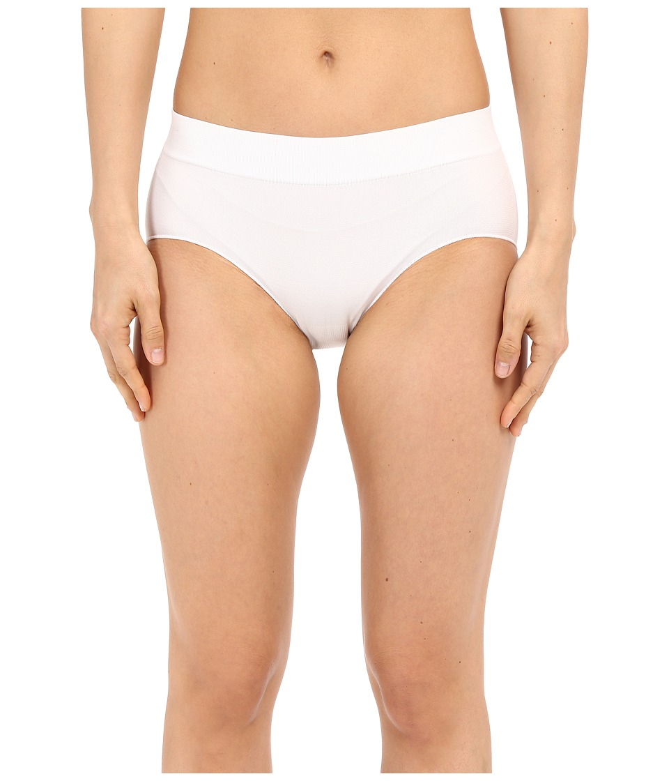 Jockey - Seamfree Sporties Hipster (White) Women's Underwear