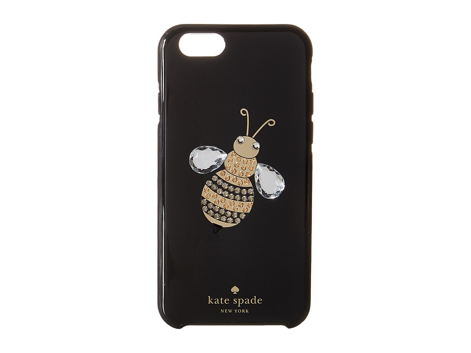 Kate Spade New York - Jeweled Queen Bee iPhone Cases for iPhone 6 (Black Multi) Cell Phone Case
