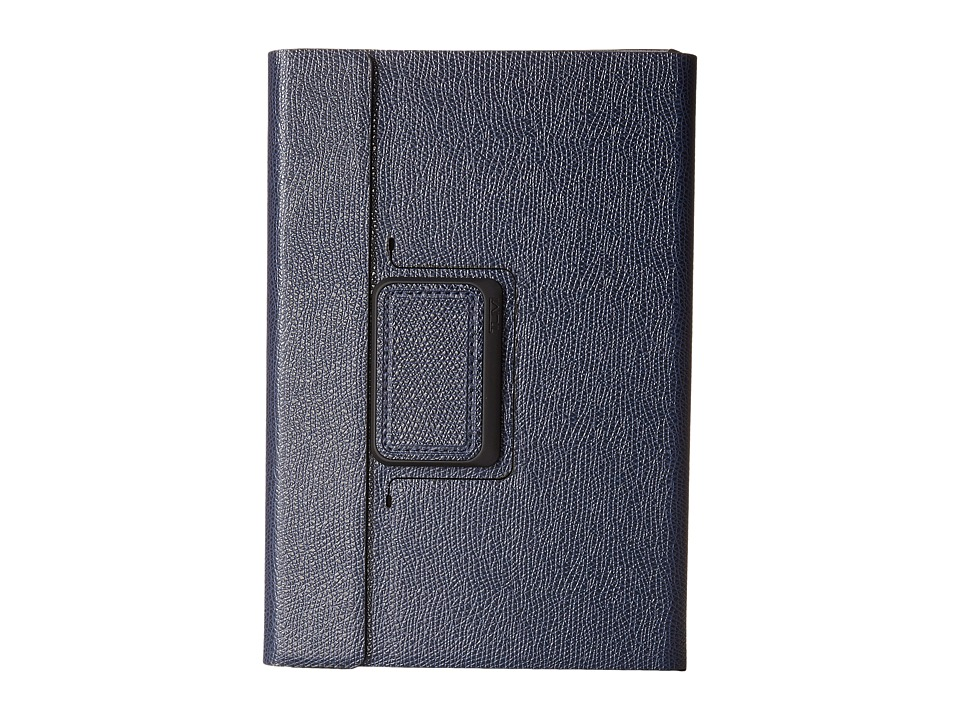 Tumi - Rotating Folio Case for iPad Mini (Navy) Computer Bags