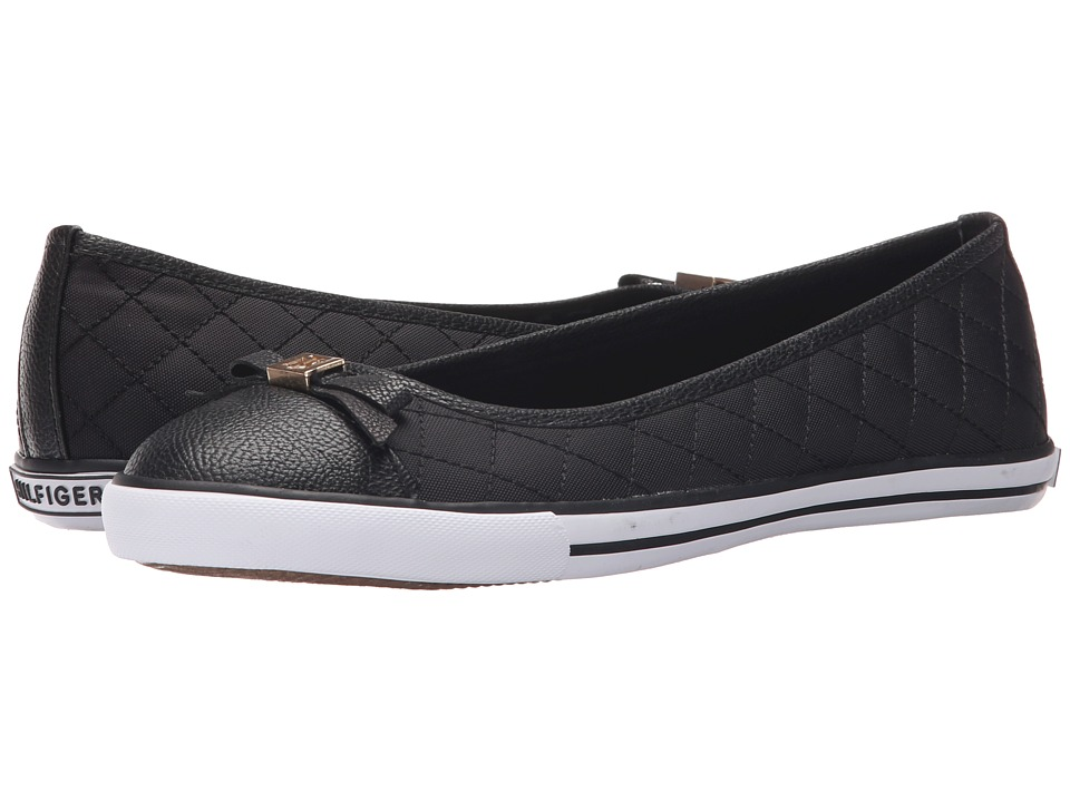 Tommy Hilfiger - Beth (Black/Black) Women's Shoes