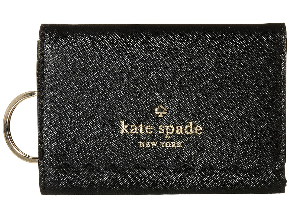 Kate Spade New York - Cape Drive Darla (Black/Bright White) Wallet