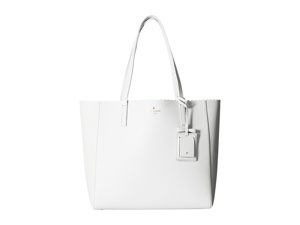 Kate Spade New York - Cape Drive Hallie (Bright White/Porcelain) Handbags