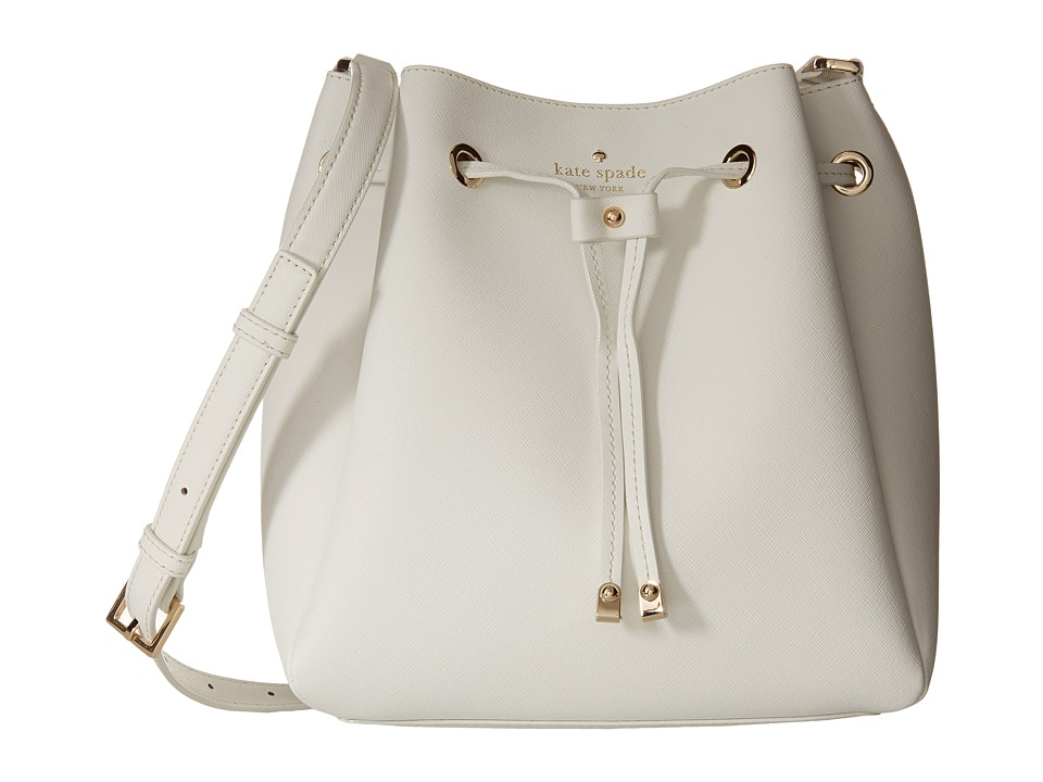 Kate Spade New York - Cape Drive Harriet (Bright White/Porcelain) Handbags