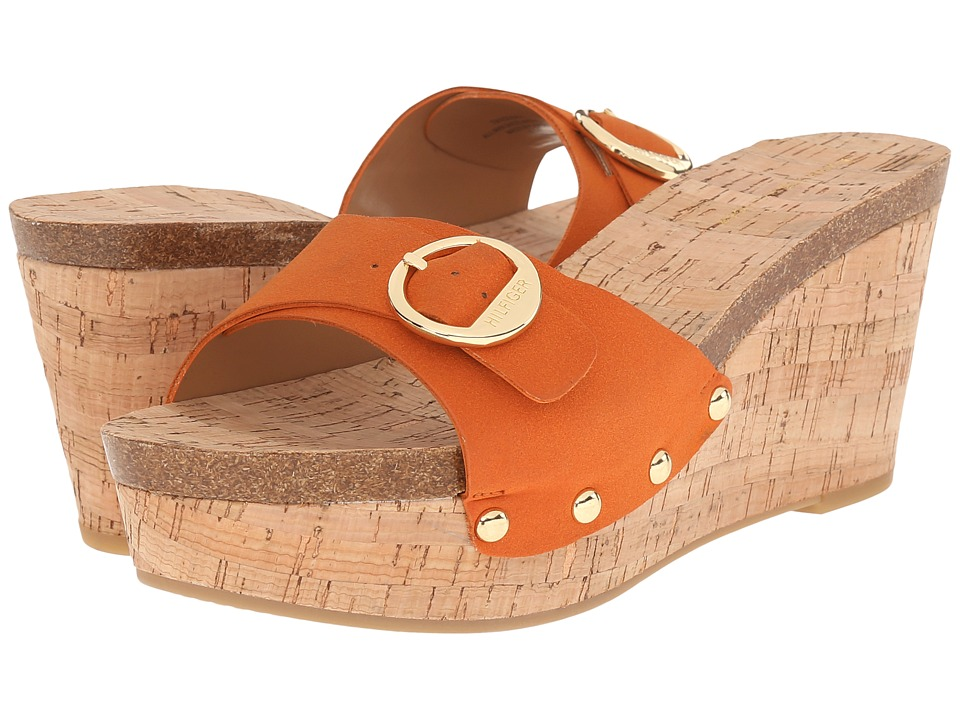 Tommy Hilfiger - Honora 2 (Crush Orange) Women's Wedge Shoes