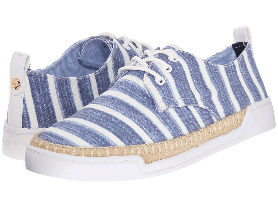 Tommy Hilfiger - Karlee 2 (Light Blue Multi/White) Women's Shoes