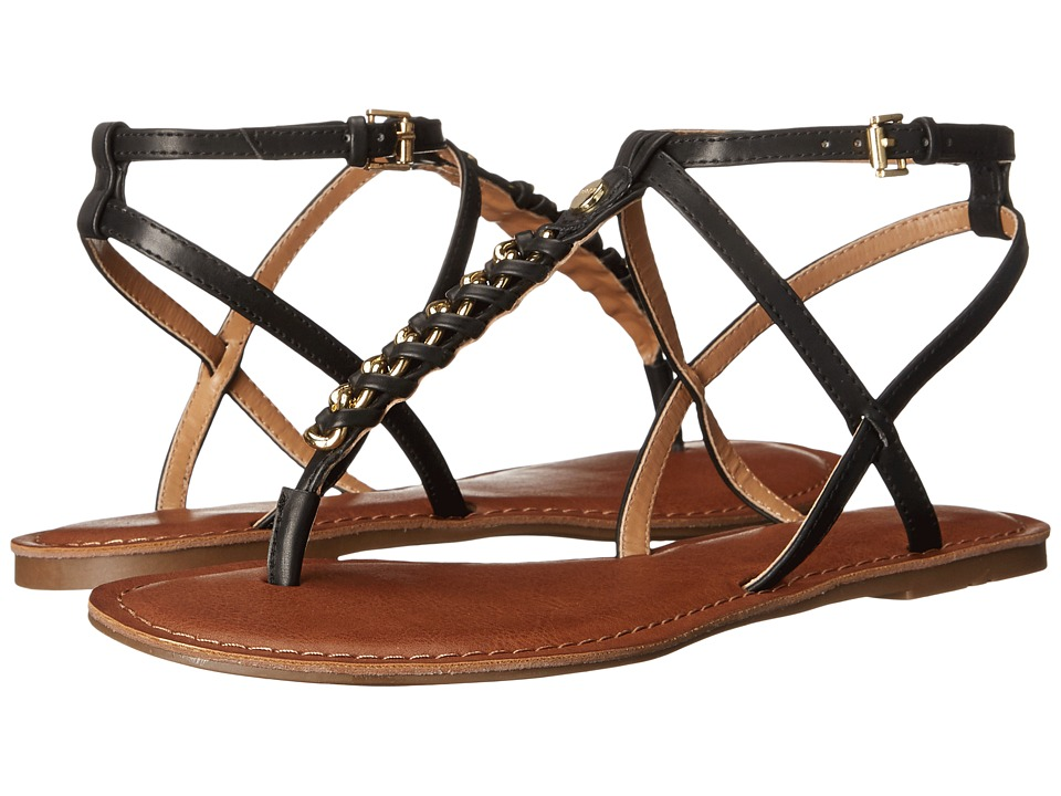 Tommy Hilfiger - Lynne (Black) Women's Sandals