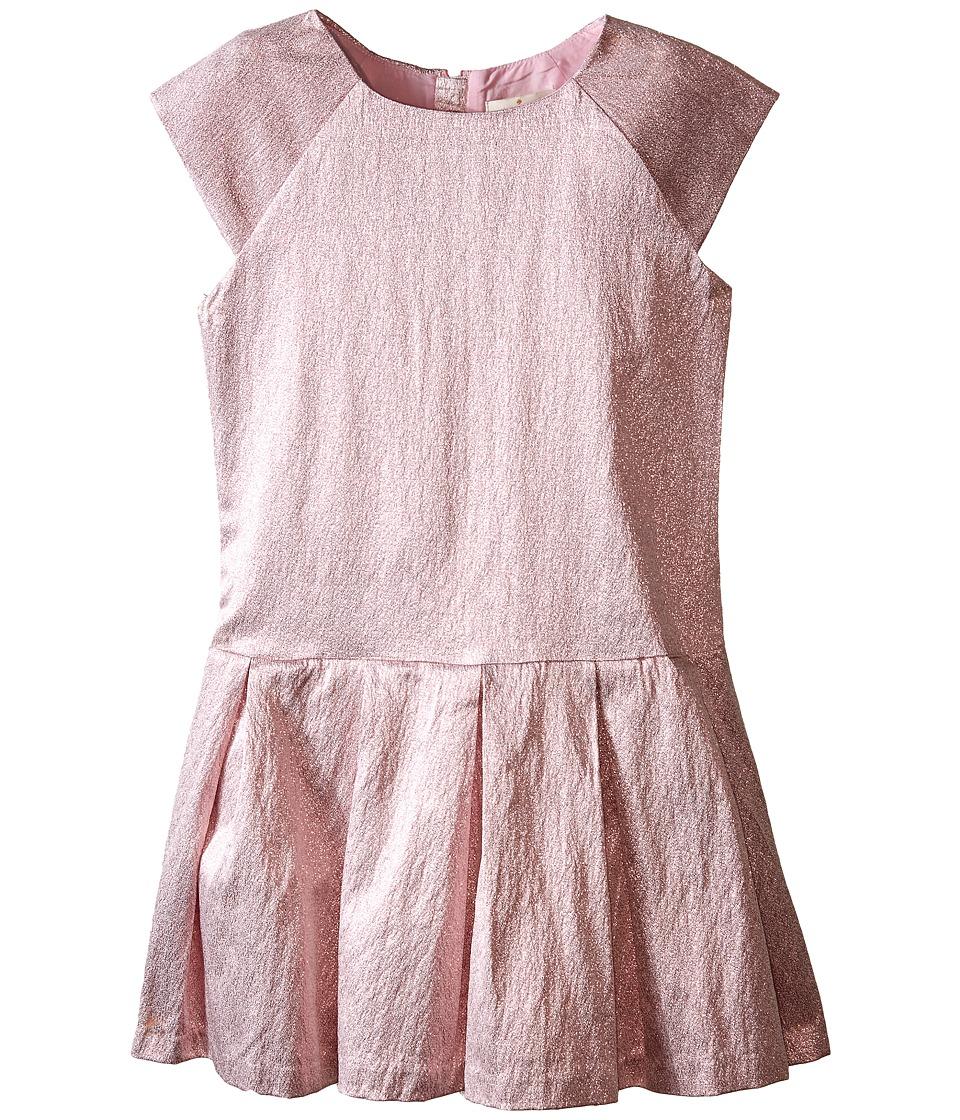 Kate Spade New York Kids - Shimmer Dress (Big Kids) (Rose Metallic) Girl's Dress
