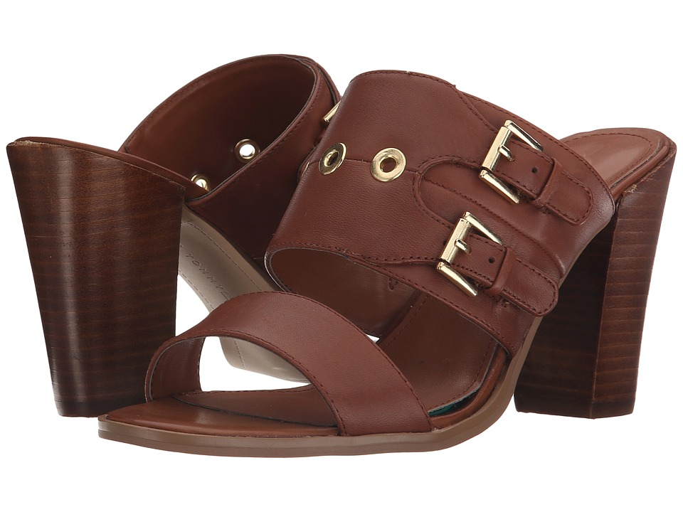 Tommy Hilfiger - Nika (Medium Brown Leather) Women