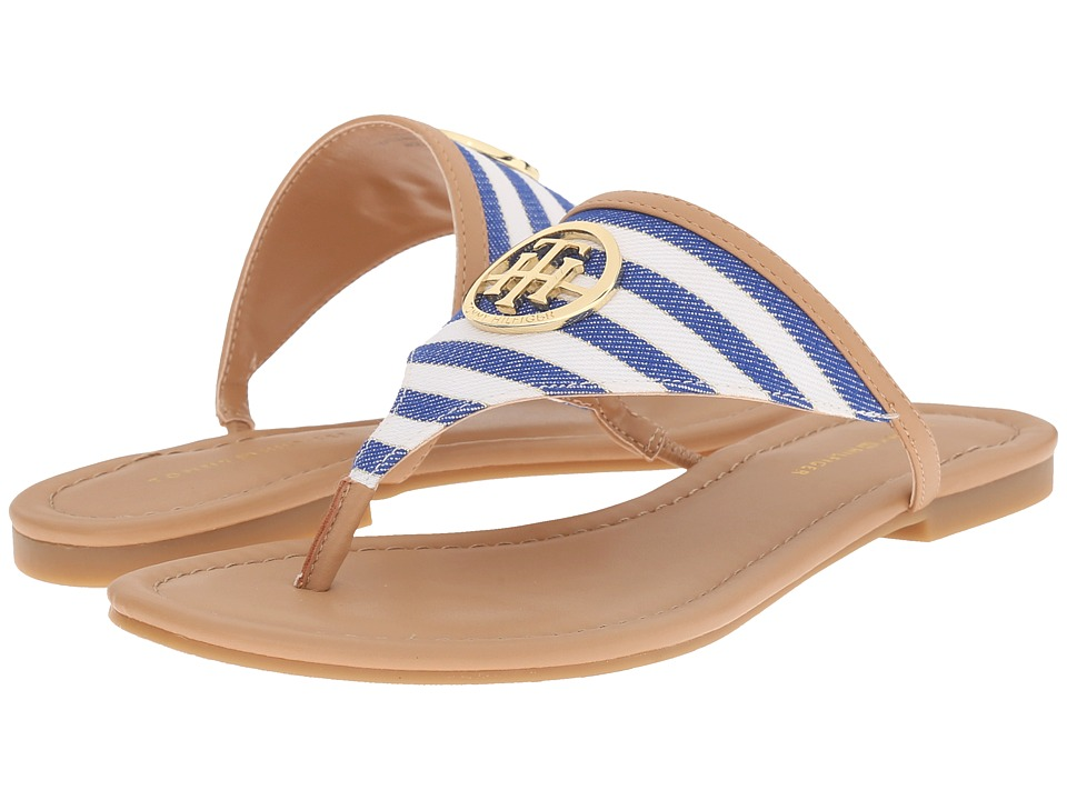 Tommy Hilfiger - Steph 2 (Blue/White/Stripe) Women