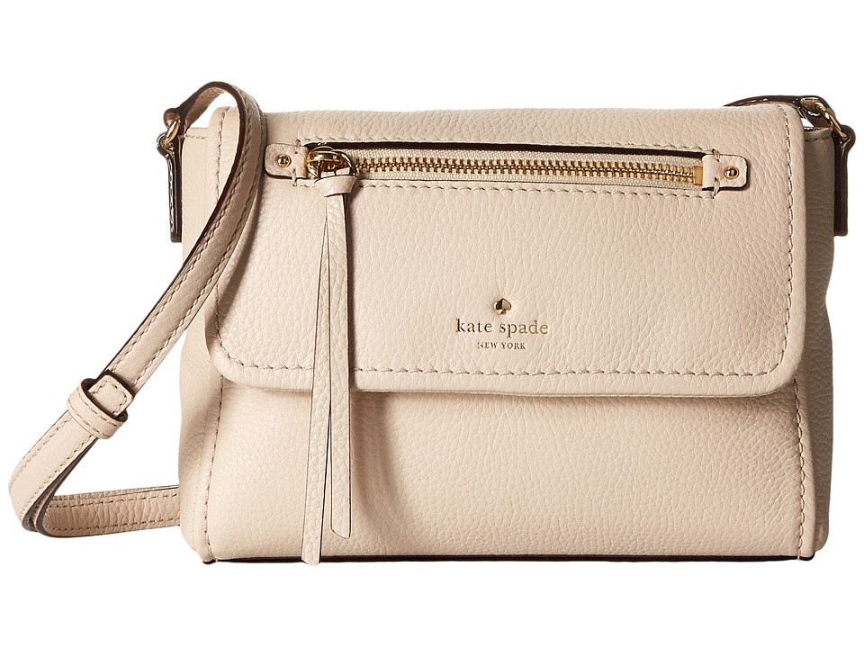 Kate Spade New York - Cobble Hill Mini Toddy (Porcelain) Cross Body Handbags