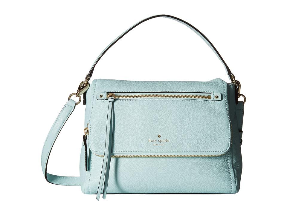 Kate Spade New York - Cobble Hill Small Toddy (Grace Blue) Shoulder Handbags