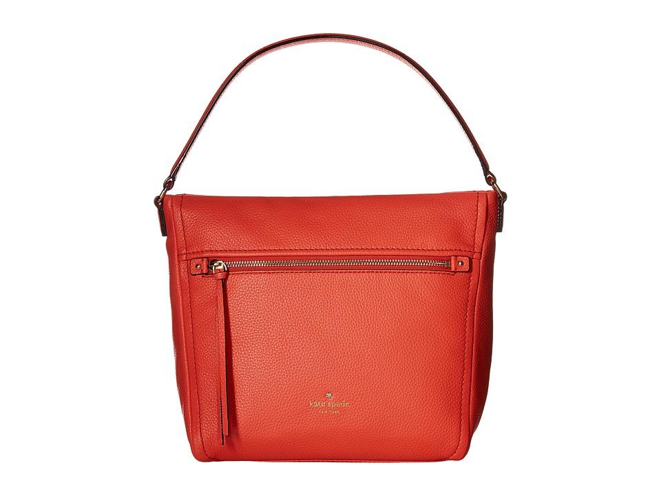 Kate Spade New York - Cobble Hill Teagan (Bright Papaya) Handbags