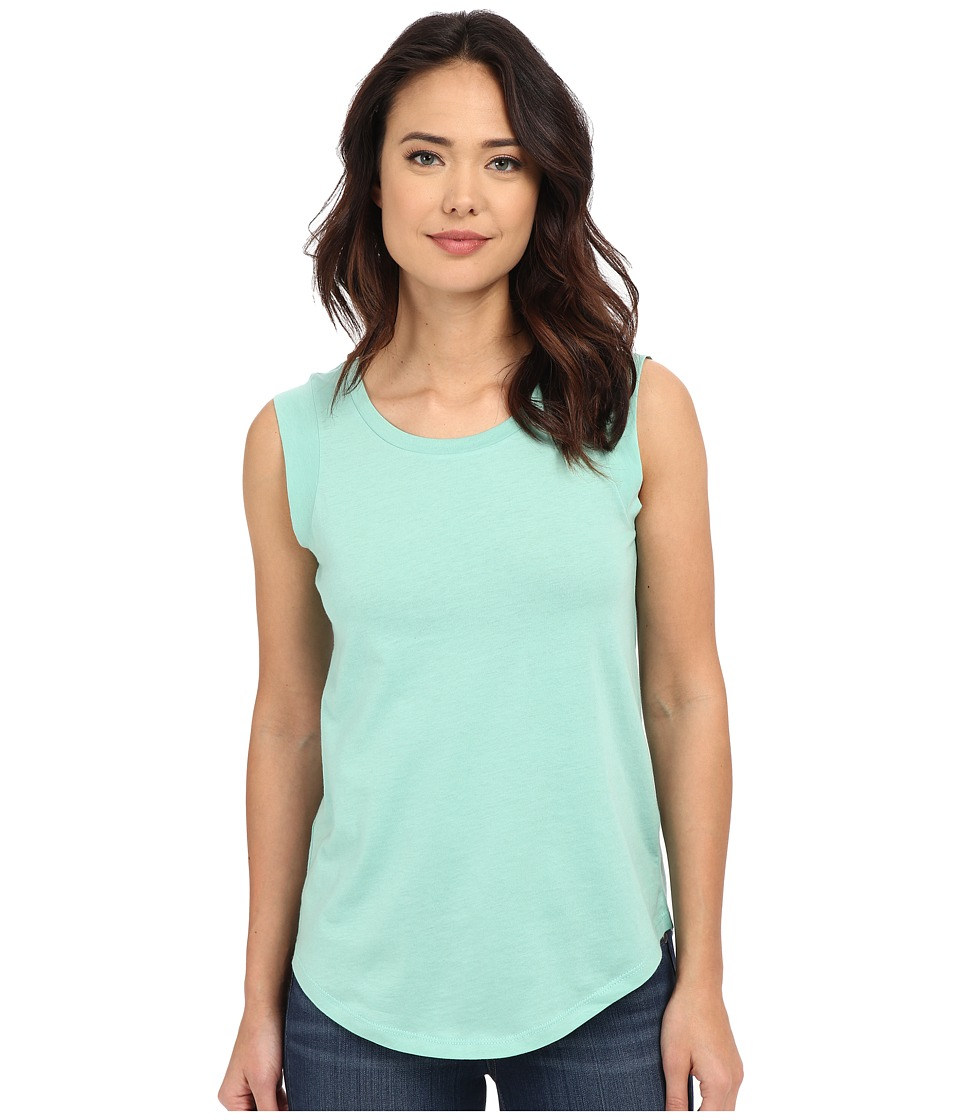 Alternative - Cap Sleeve Crew (Green Tint) Women's T Shirt