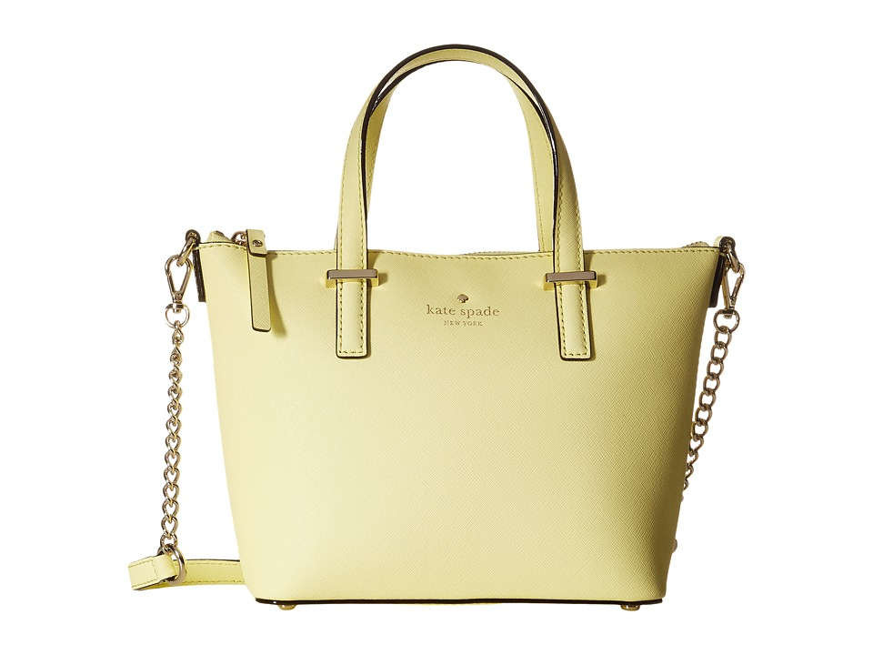 Kate Spade New York - Cedar Street Harmony Crossbody (Lemonade) Cross Body Handbags