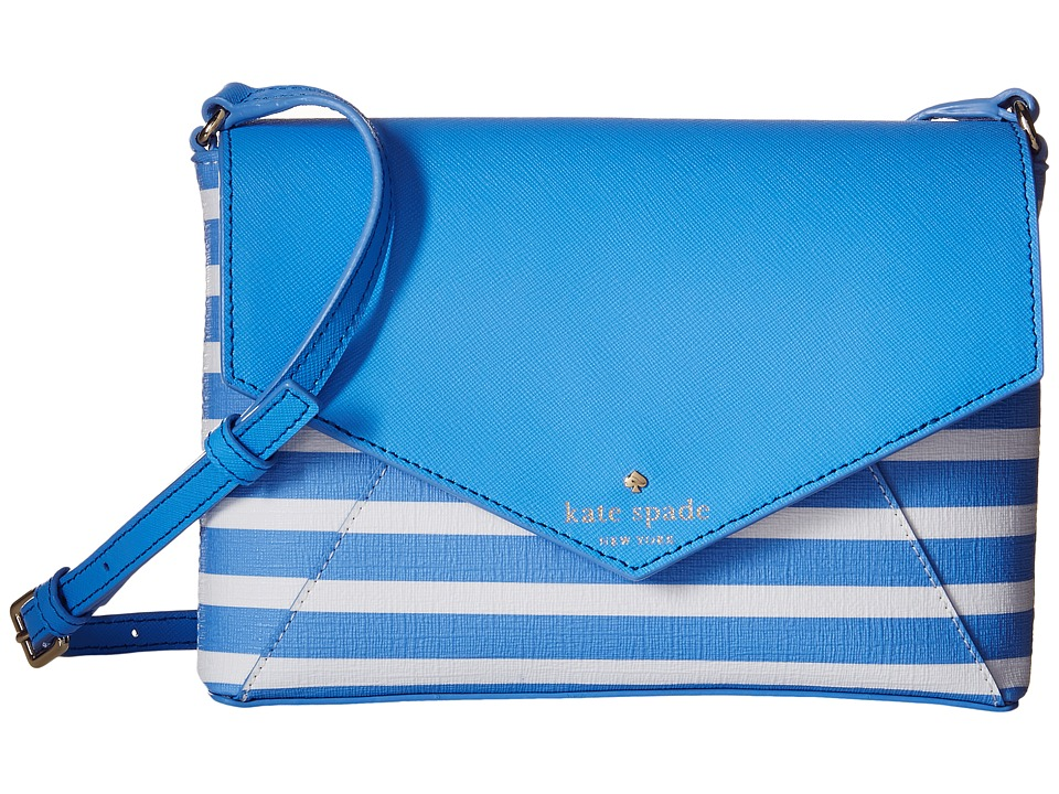 Kate Spade New York - Fairmount Square Large Monday (Alice Blue/Sandy Beach) Wallet