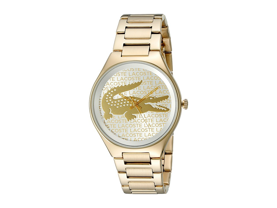 Lacoste - 2000930 - VALENCIA (Silver White/Gold Plated) Watches