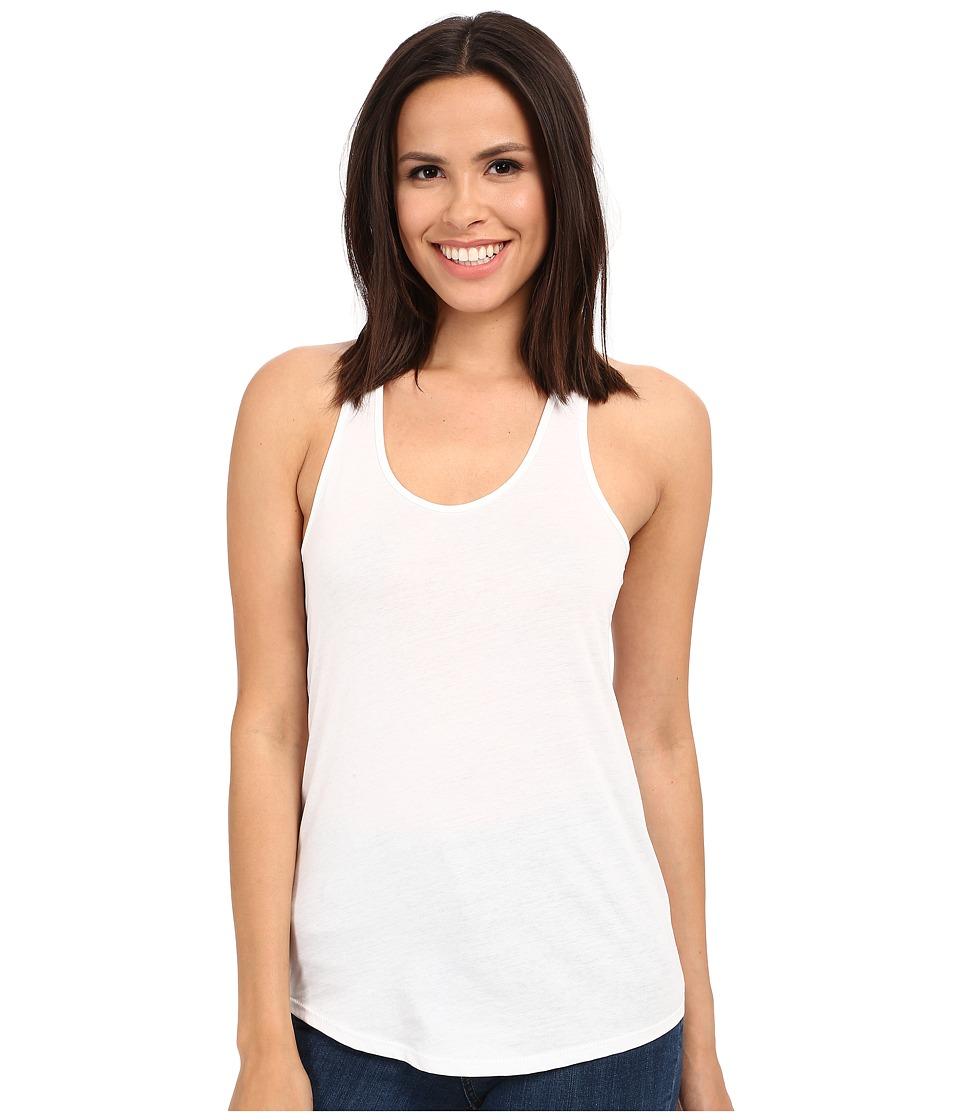 Alternative - Shirttail Tank Top (White) Women's Sleeveless