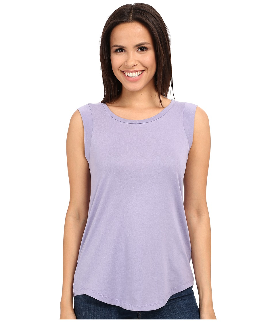 Alternative - Cap Sleeve Crew (Dusty Plum) Women's T Shirt