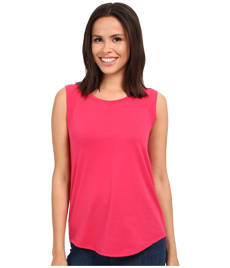 Alternative - Cap Sleeve Crew (Rosa Pink) Women's T Shirt