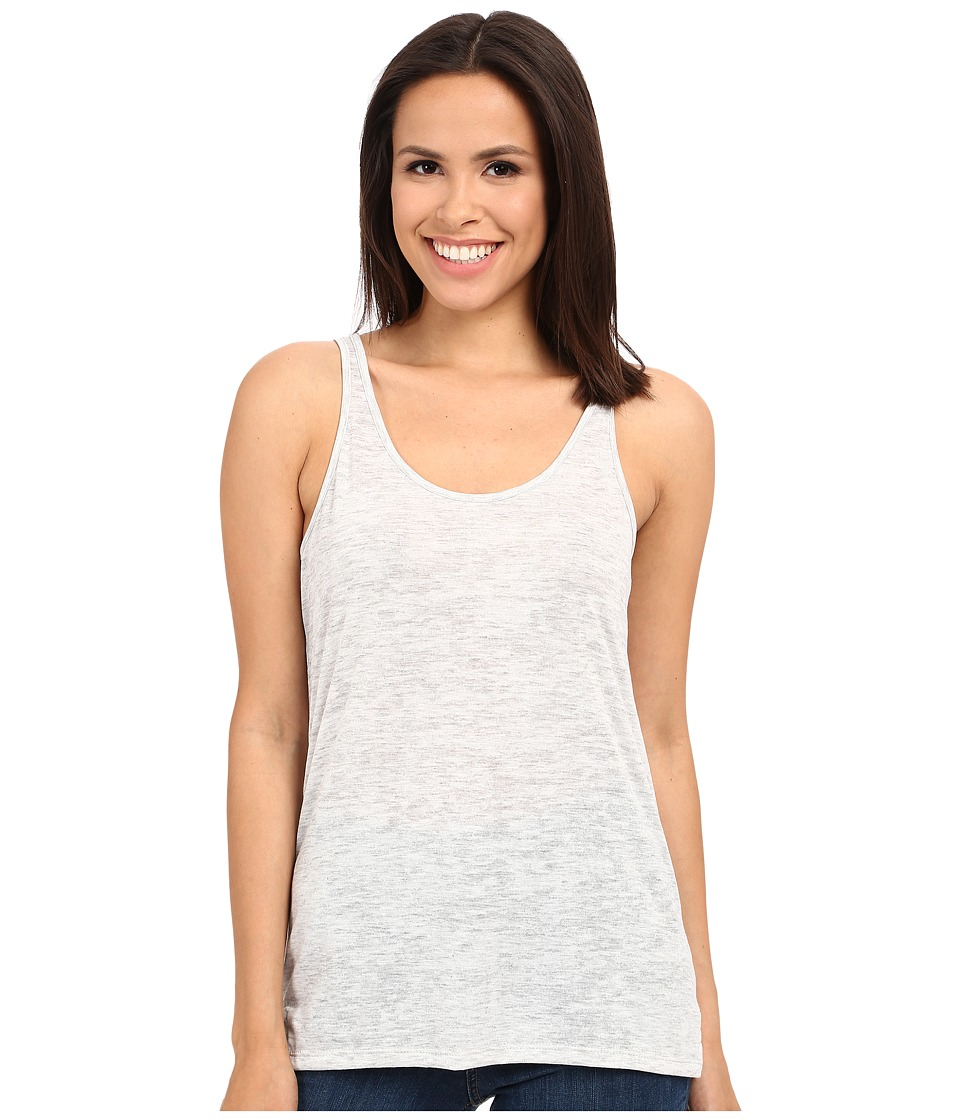 Alternative Melange Burnout Jersey Airy Tank Top (Oatmeal Heather) Women