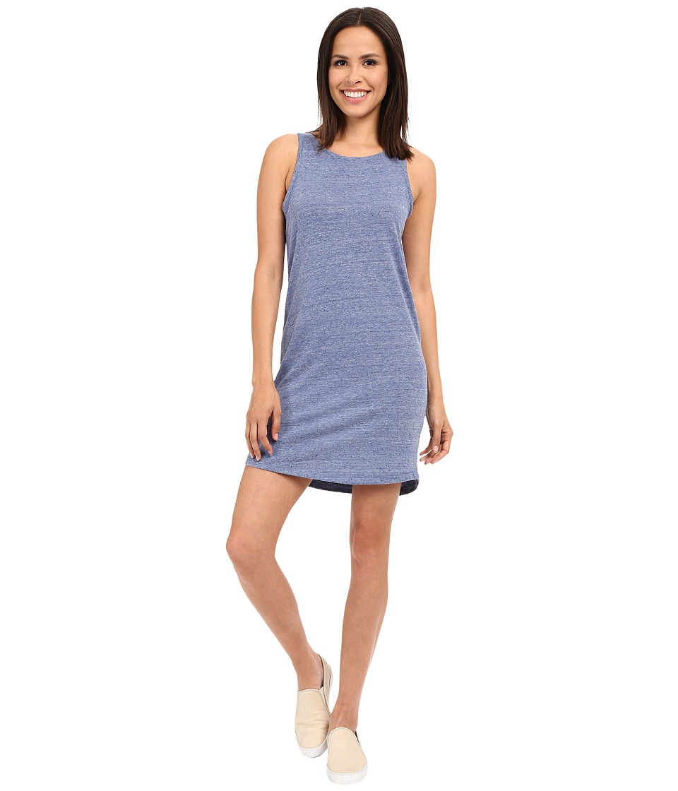 Alternative - Eco Neptune Jersey Nautical Tank Dress (Eco Pacific Blue) Women's Dress