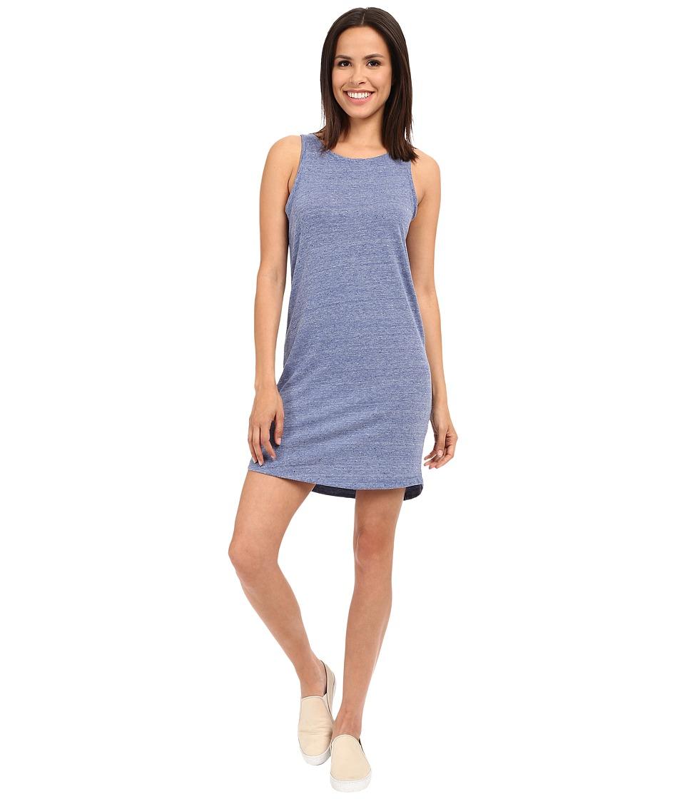 Alternative - Eco Neptune Jersey Nautical Tank Dress (Eco Pacific Blue) Women's Dress