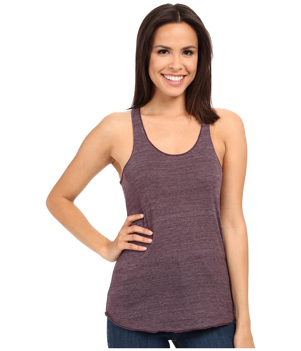 Alternative - Meegs Racer Tank (Eco True Eggplant) Women's Sleeveless