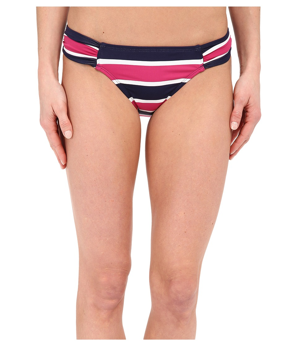 Tommy Bahama - Nautical Side Shirred Hipster (Mare Navy) Women's Swimwear