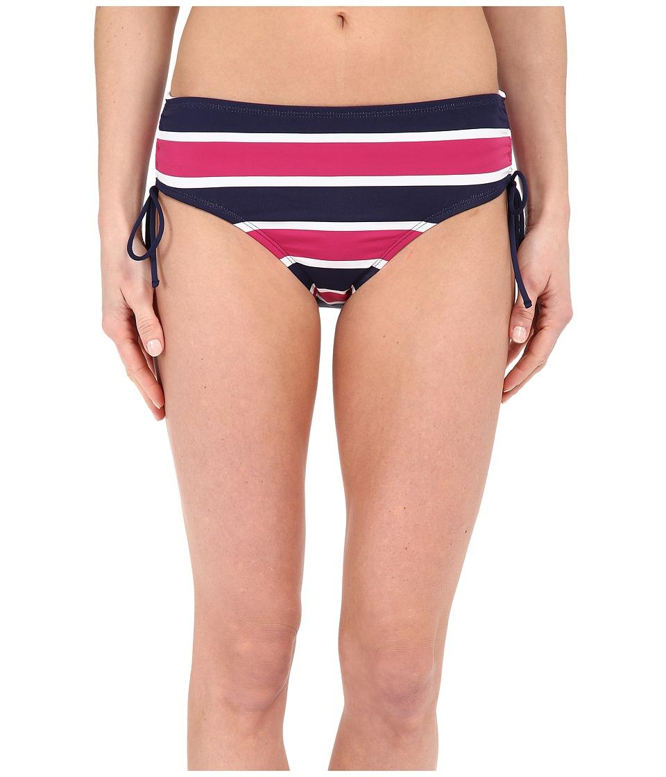 Tommy Bahama Nautical Tie Side High Waist Pants (Mare Navy) Women