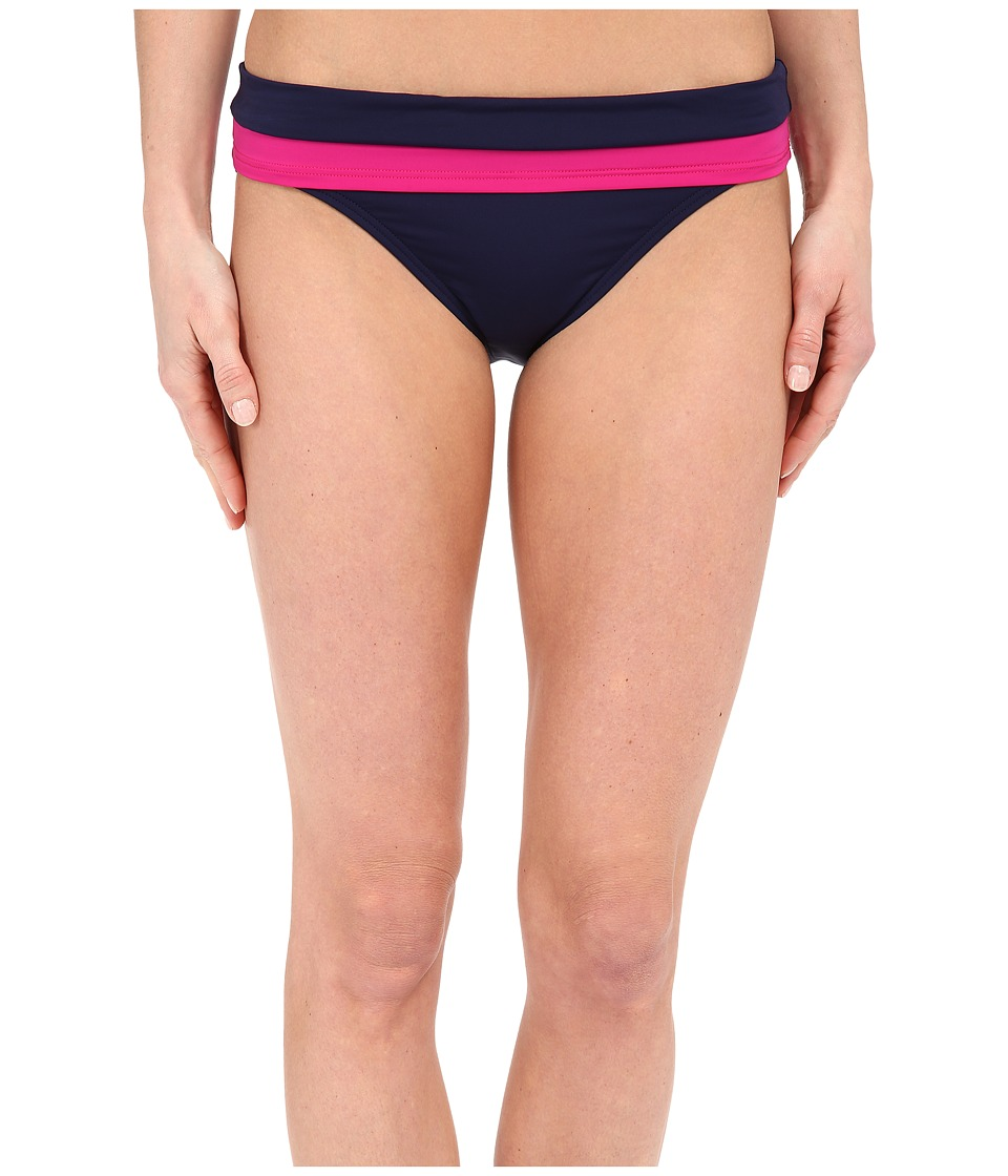 Tommy Bahama - Deck Hipster w/ Wide Band (Mare Navy) Women's Swimwear