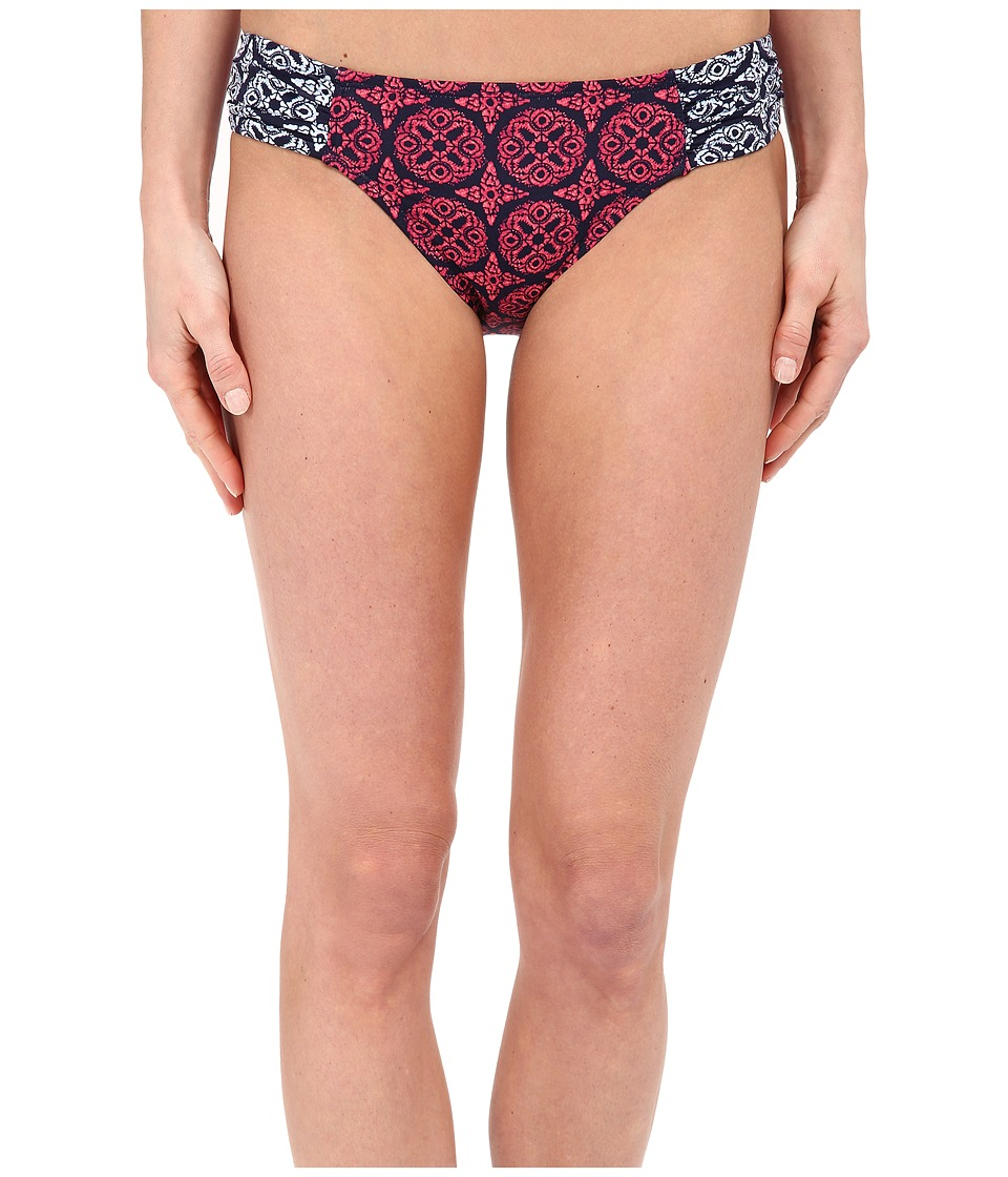 Tommy Bahama Lace Medallion Side Shirred Hipster (Razzberry) Women