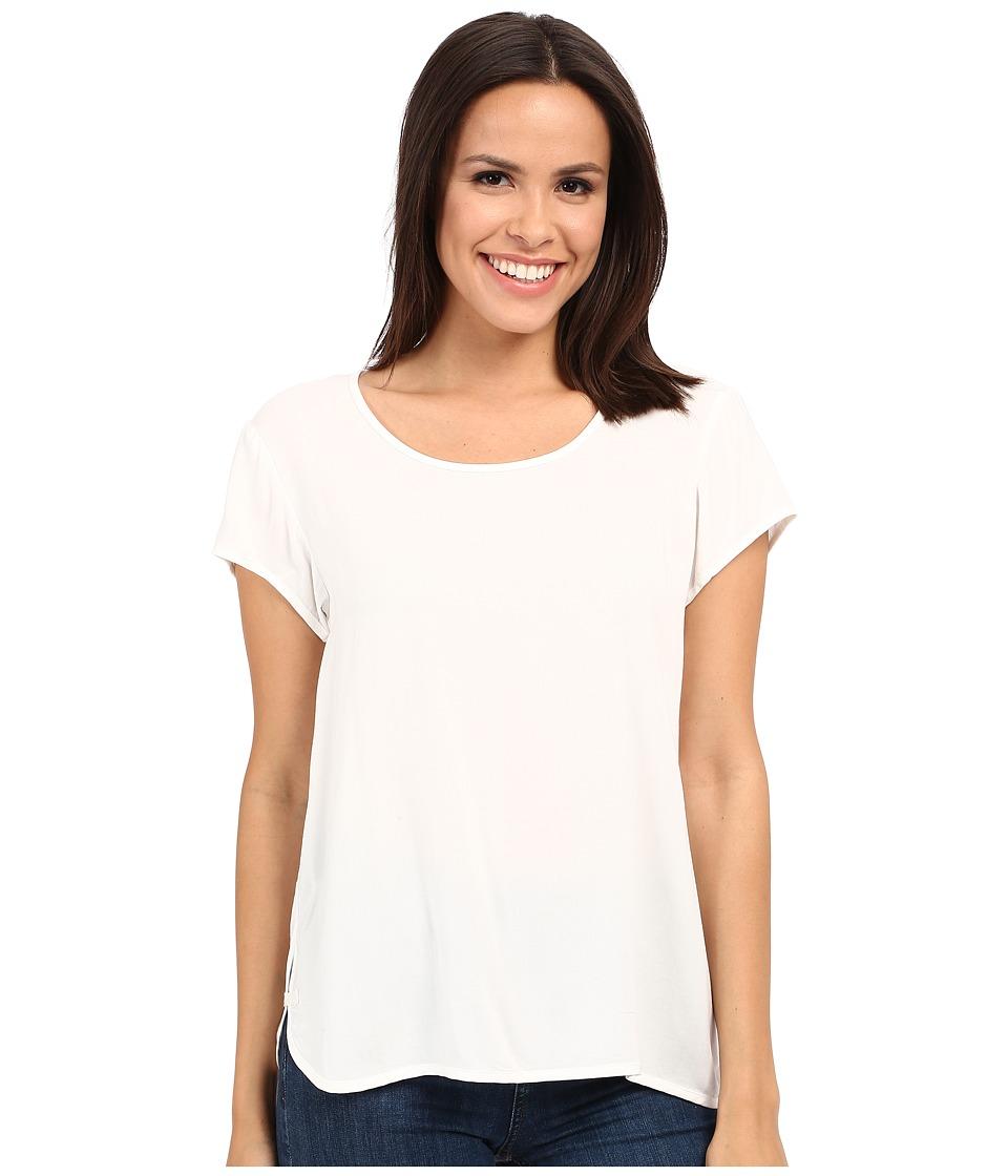 Alternative - Rayon Challis Upgraded T-Shirt (White) Women's T Shirt