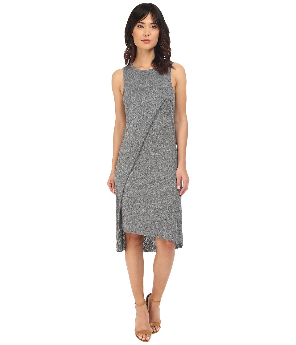 Alternative - Heather Linen Olympic Dress (Charcoal Heather) Women's Dress