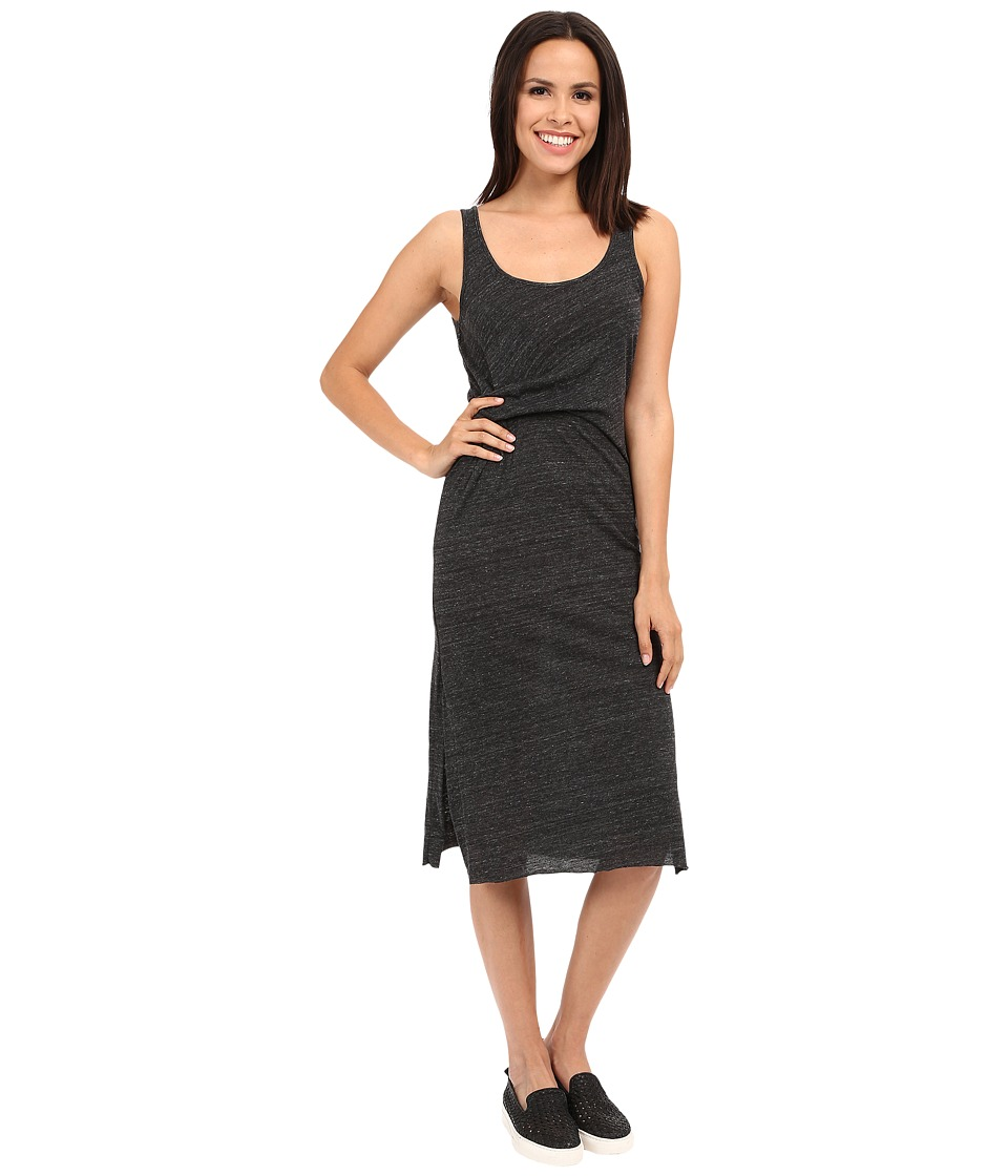 Alternative - Eco Jersey York Midi Dress (Eco Black) Women's Dress