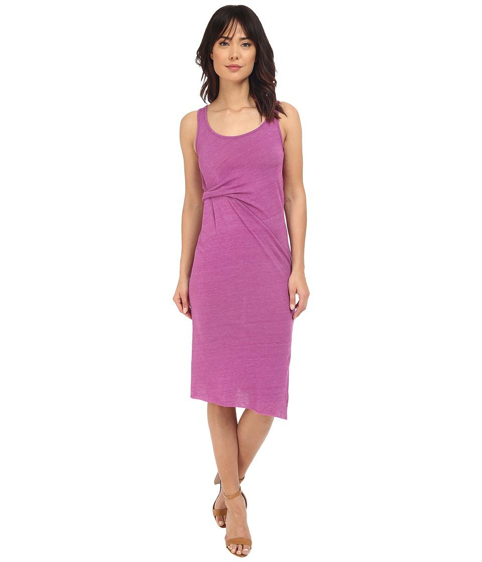 Alternative - Eco Jersey York Midi Dress (Eco True Huckleberry) Women's Dress