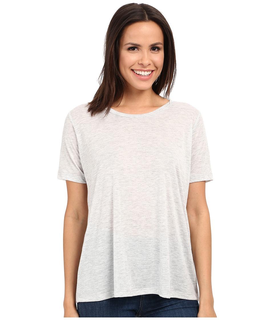 Alternative - Melange Jersey Boxy T-Shirt (Oatmeal Heather) Women's T Shirt