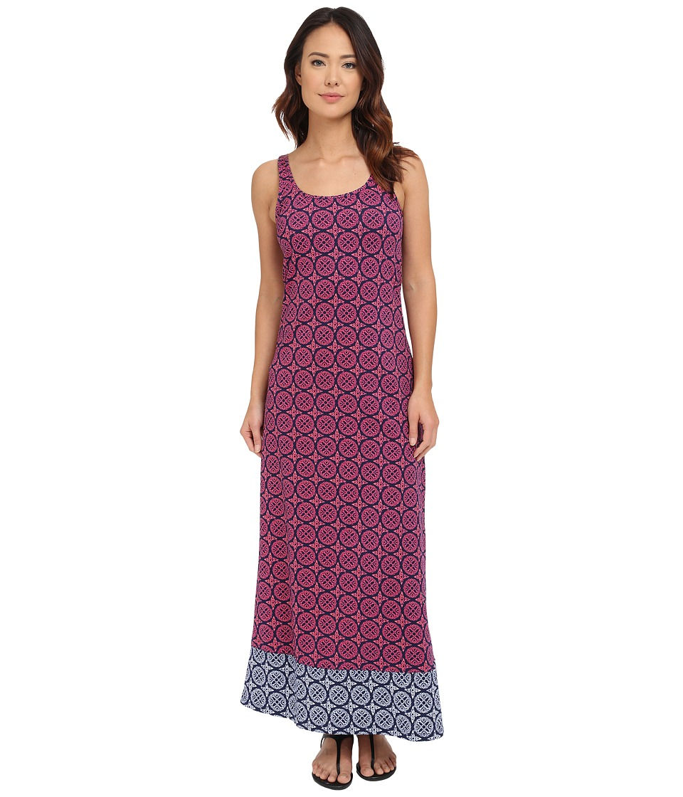 Tommy Bahama Lace Medallion Long Tank Dress Cover-Up (Razzberry) Women