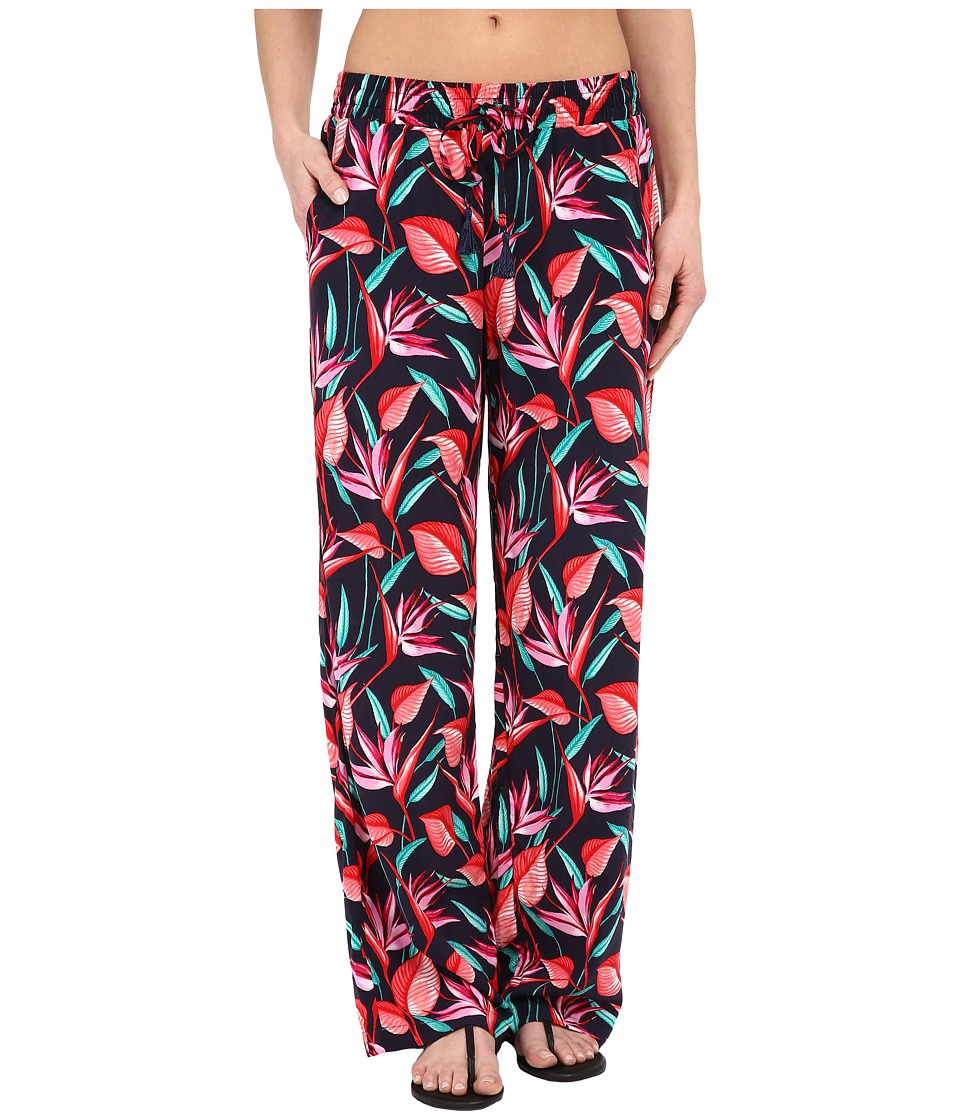 Tommy Bahama - Bird Paradise Beach Pants Cover-Up (Mare Navy) Women's Swimwear