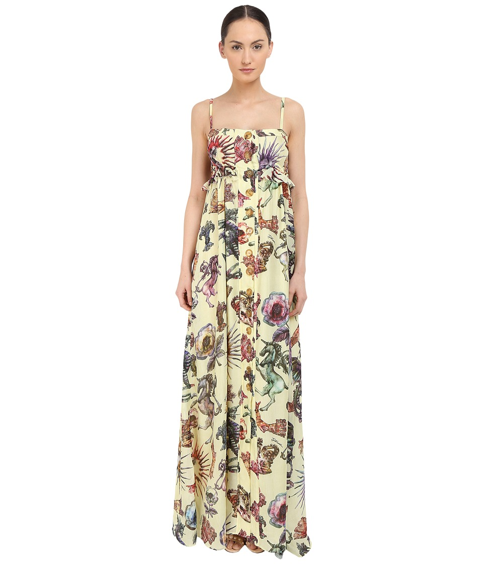 Just Cavalli Love Royal Printed Maxi Dress